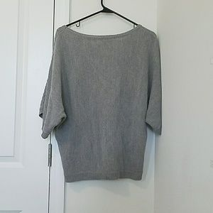 New York & Company Tops - Gray dolman sleeve sweater